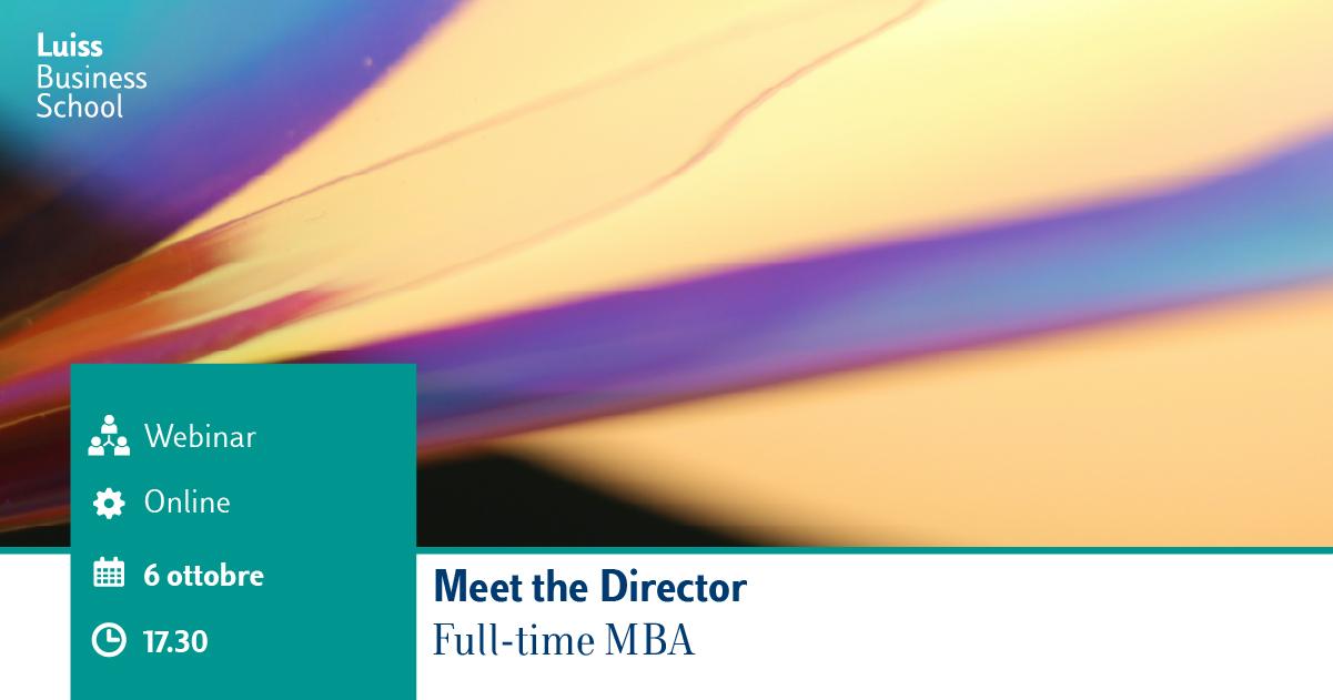Webinar Meet The Director fb