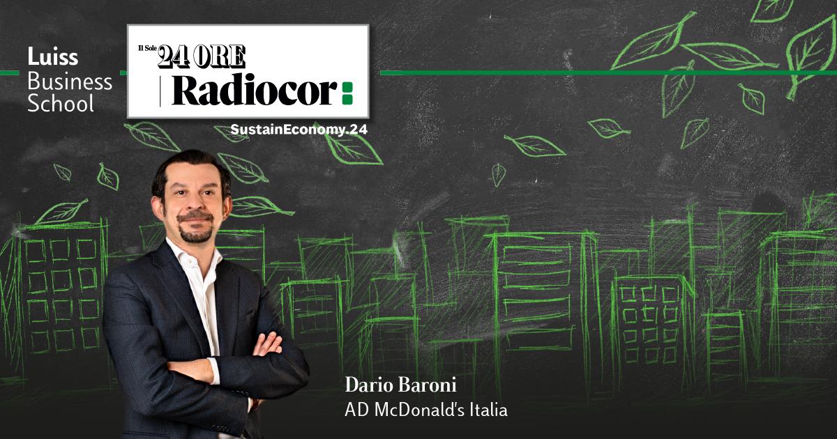 Dario Baroni Mc Donald's Italia